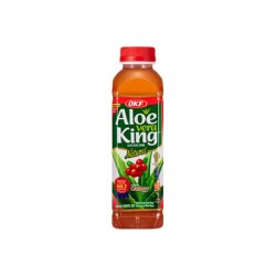 "30% Aloe Vera, King, OKF "" Cranberry "" - 500 ml"