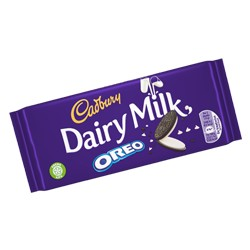 CADBURYS DAIRY MILK WITH OREO 120gr