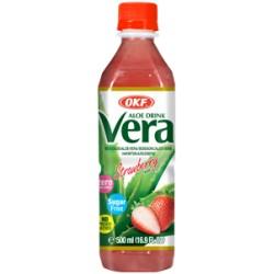 30% Aloe Vera King, Φράουλα, χωρίς ζάχαρη- 500ml