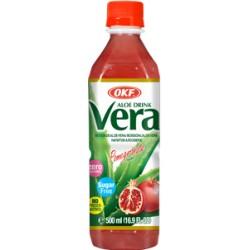 Aloe Vera , Ρόδι, χωρίς ζάχαρη- 500ml