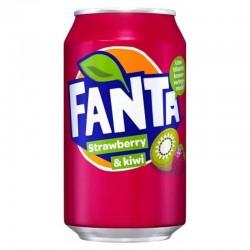 FANTA Φράουλα &  Ακτινίδια 330ml