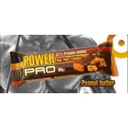 Μπάρα πρωτεΐνης Power Pro - Peanut Butter (Φυστικοβούτυρο) 80γρ