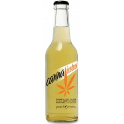 CANNA ICE TEA PEACH SUGAR FREE 330ml