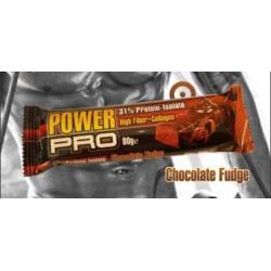 Μπάρα πρωτεΐνης Power Pro - Chocolate Fudge 80γρ