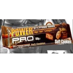 Μπάρα πρωτεΐνης Power Pro - Soft Cookies 80γρ